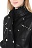 PHILOSOPHY di LORENZO SERAFINI Leather jacket LEATHER & FUR Woman e