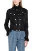 PHILOSOPHY di LORENZO SERAFINI Leather jacket LEATHER & FUR Woman r