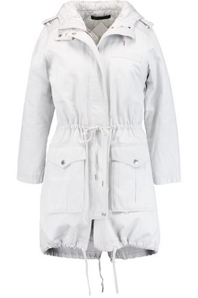 MARC BY MARC JACOBS Padded canvas hooded coat