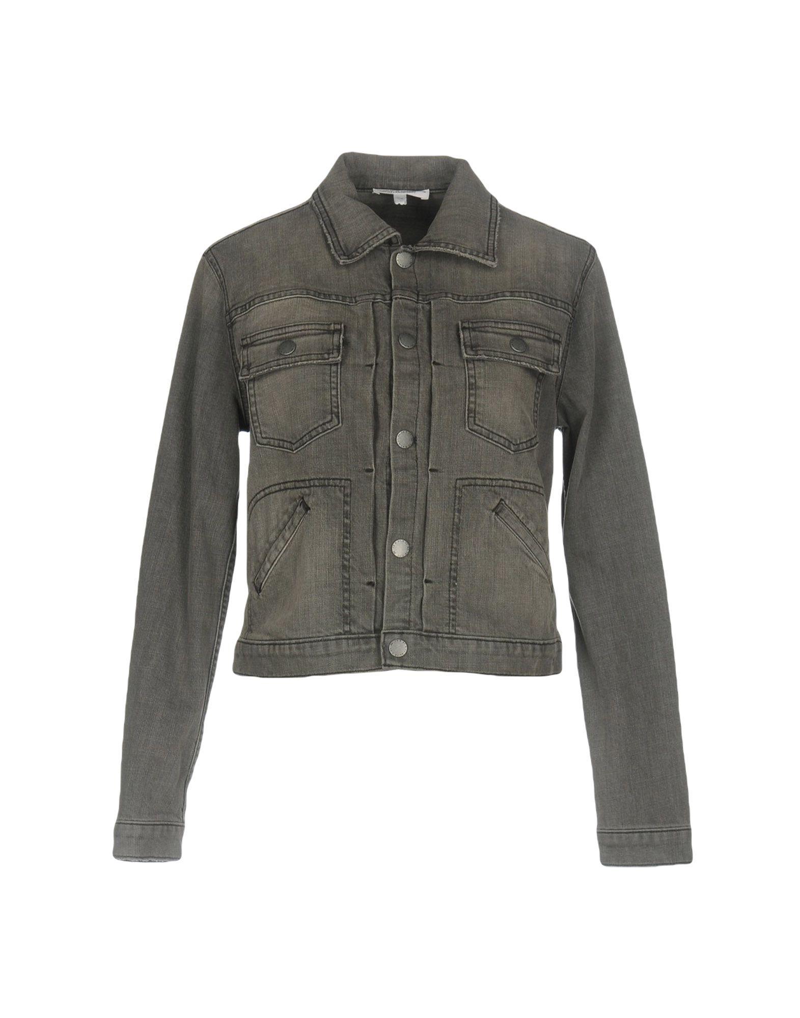 CURRENT/ELLIOT + CHARLOTTE GAINSBOURG Джинсовая верхняя одежда цена 2017