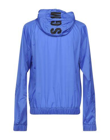 Фото 2 - Мужскую куртку MSGM синего цвета