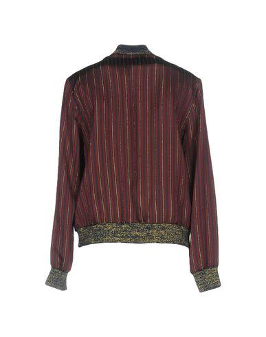 Фото 2 - Женскую куртку JUCCA красно-коричневого цвета