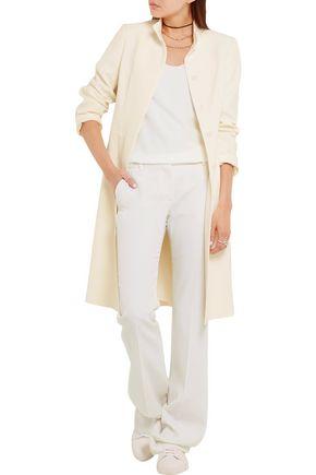 ALEXANDER MCQUEEN Crepe coat
