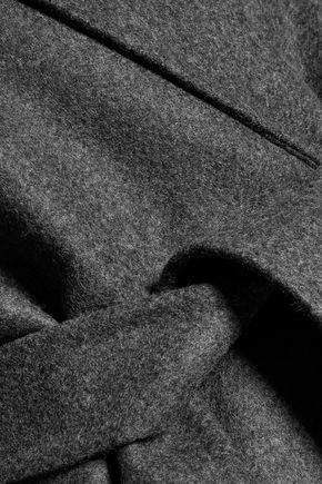 ROCHAS Belted wool-felt coat