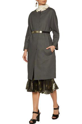MARNI Wool and linen-blend coat