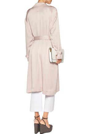 MARISSA WEBB Corey satin-crepe coat