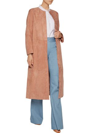 ADAM LIPPES Suede coat