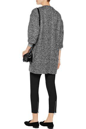 ALICE + OLIVIA Roy marled knitted coat