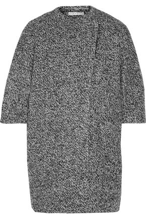ALICE + OLIVIA Roy marled knitted coat