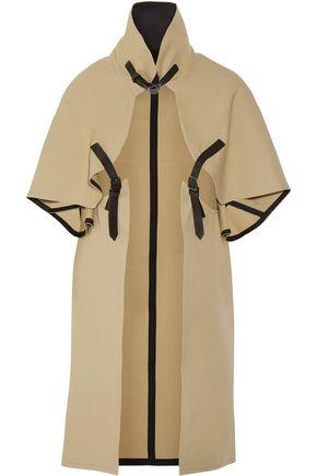 VICTORIA BECKHAM Cotton-gabardine cape