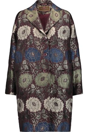 ETRO Metallic jacquard coat