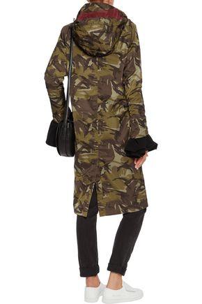GANNI Shell hooded coat
