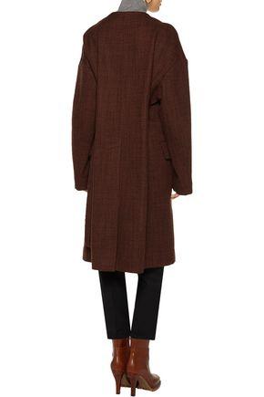 MARNI Textured wool-blend coat