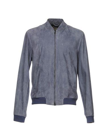 Фото - Мужскую куртку  грифельно-синего цвета
