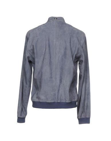 Фото 2 - Мужскую куртку  грифельно-синего цвета