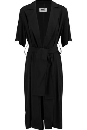 MM6 by MAISON MARGIELA Crepe de chine coat ...
