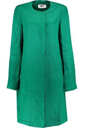 MM6 by MAISON MARGIELA Linen-blend twill jacket