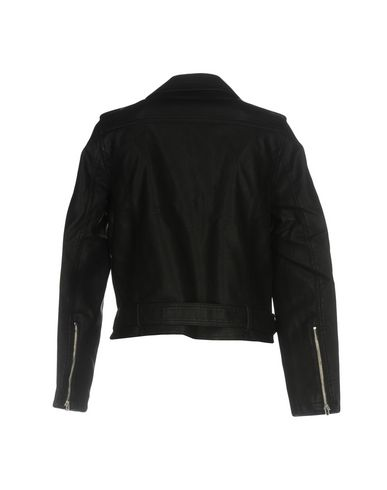 Фото 2 - Женскую куртку OBEY черного цвета