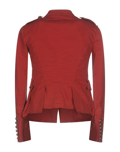 Фото 2 - Женскую куртку  красного цвета