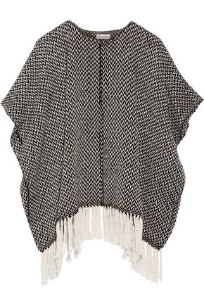 APIECE APART Fringed cotton cape
