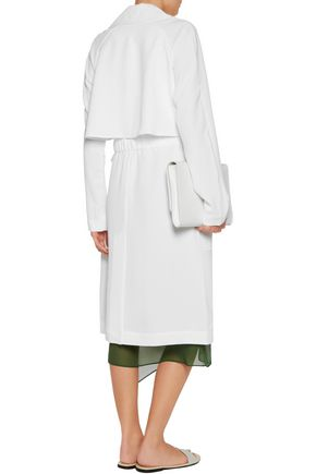 TIBI Belted twill trench coat