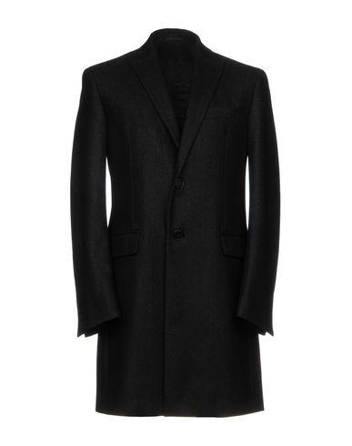 Фото - Мужское пальто или плащ  черного цвета