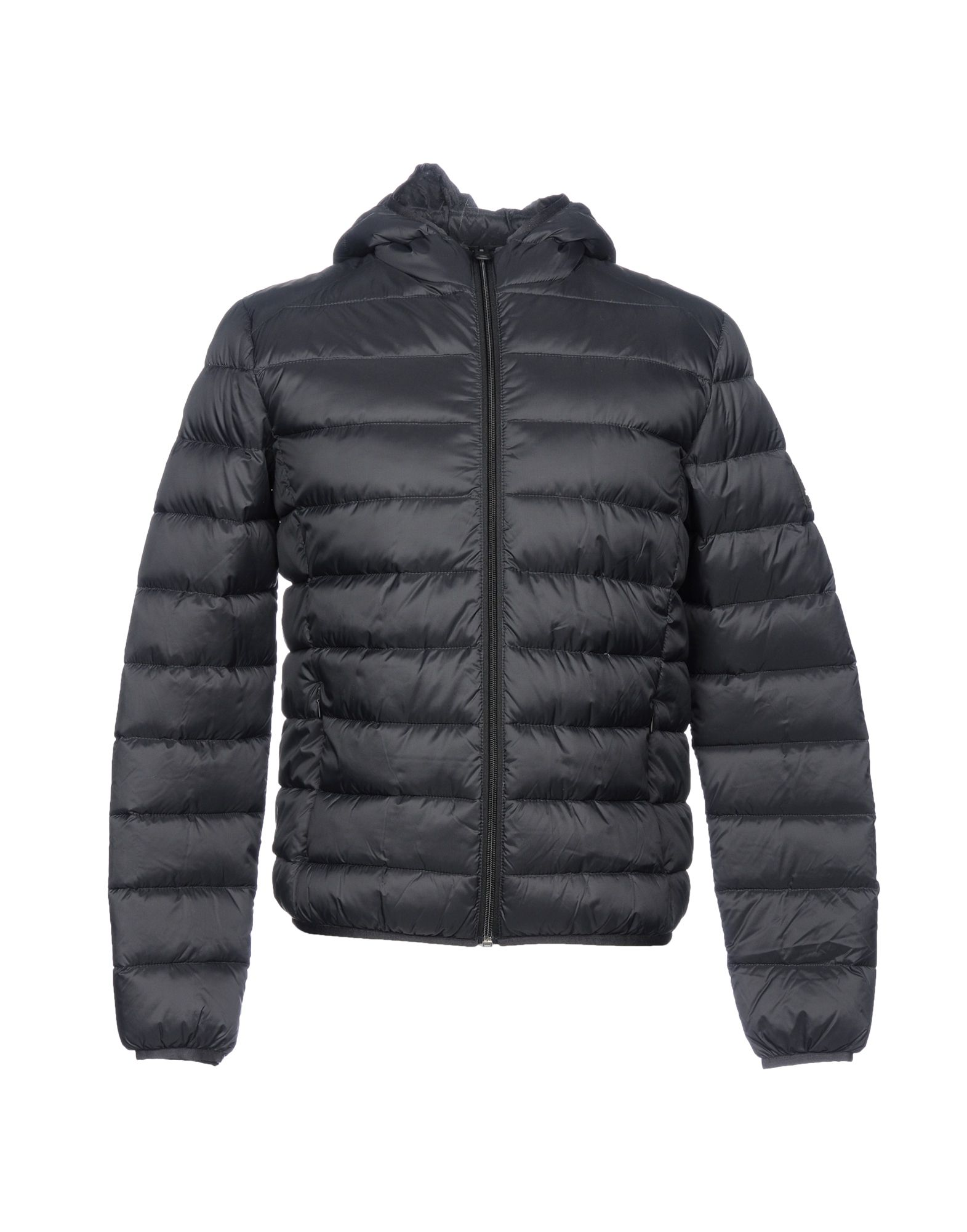 《送料無料》ECOALF メンズ ダウンジャケット ブラック S Recycled Nylon 100%