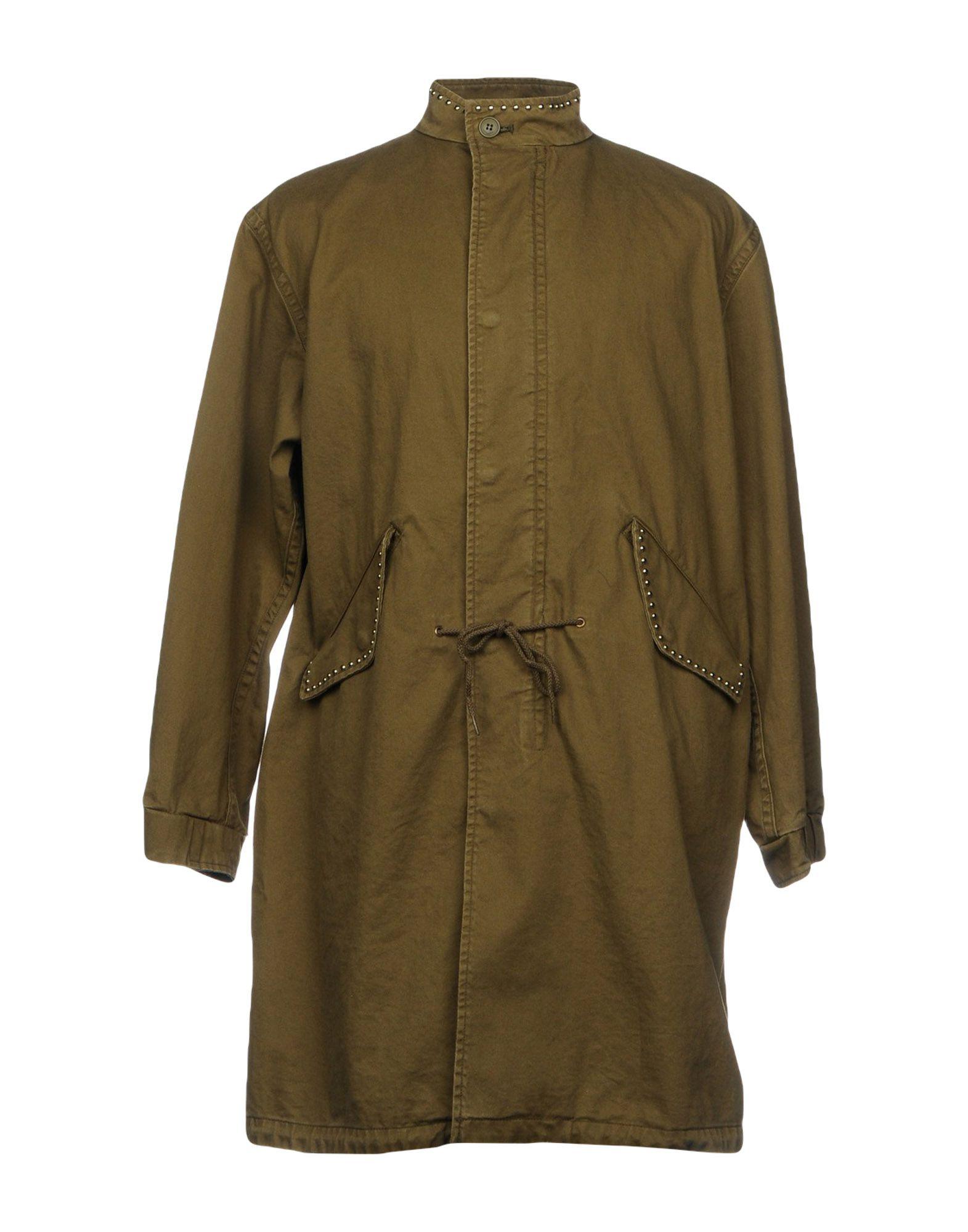 SAINT LAURENT Легкое пальто saint laurent джинсовая верхняя одежда