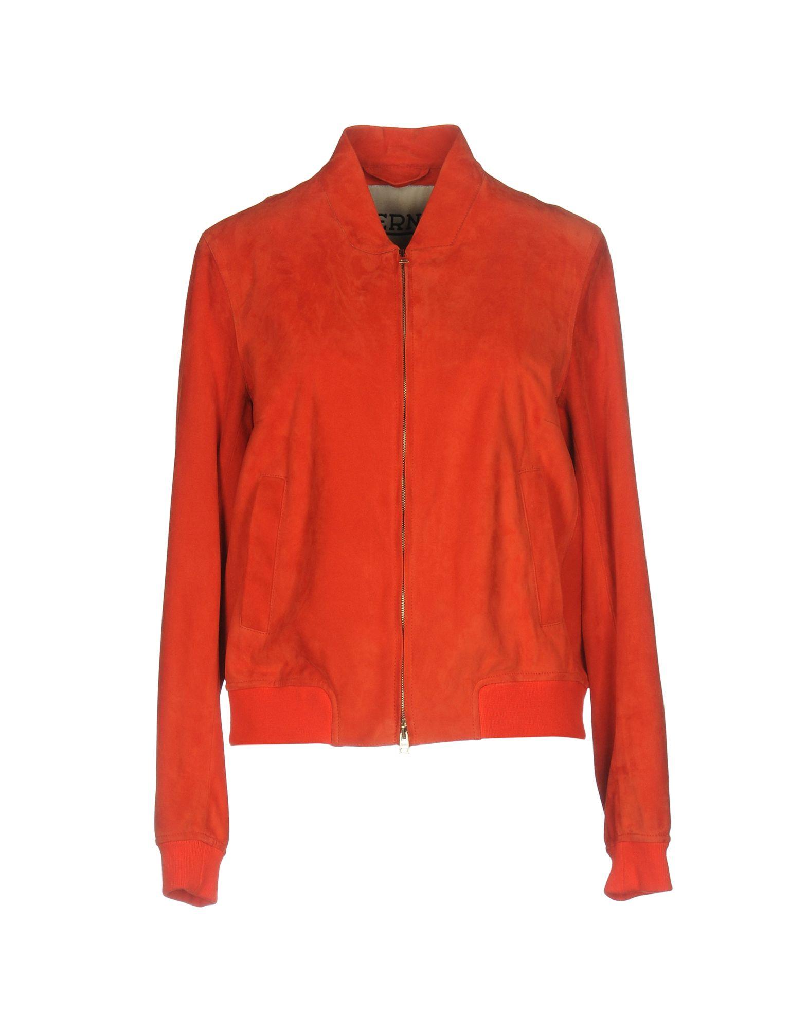 HERNO Куртка замшевая куртка