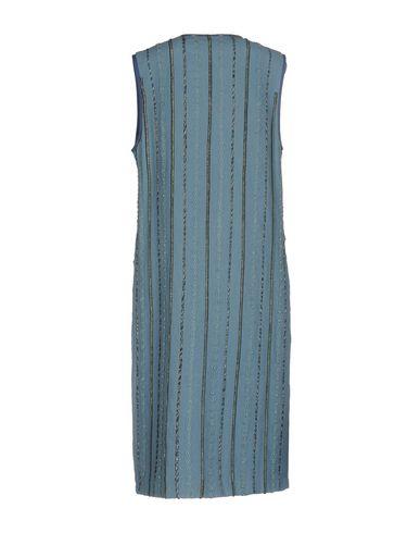 Фото 2 - Легкое пальто от BLANK грифельно-синего цвета