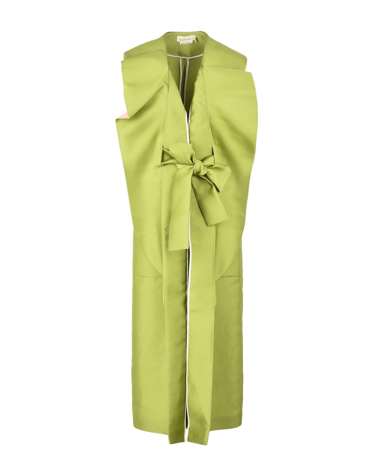 MERCHANT ARCHIVE Overcoats in Green