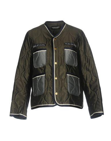 Фото - Женскую куртку UNDERCOVER темно-зеленого цвета