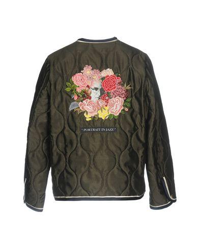 Фото 2 - Женскую куртку UNDERCOVER темно-зеленого цвета