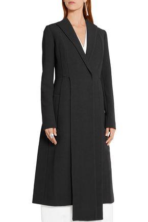 NARCISO RODRIGUEZ Wool-crepe coat