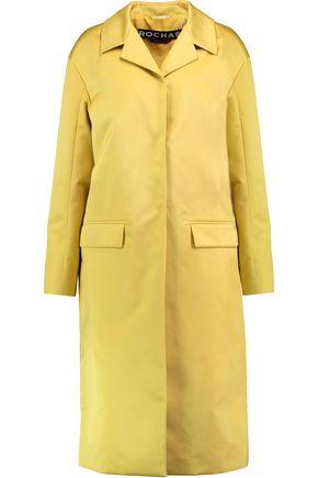 ROCHAS Satin-twill coat
