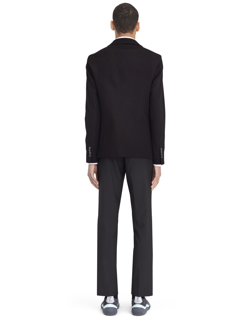BLACK DECONSTRUCTED JACKET - Lanvin