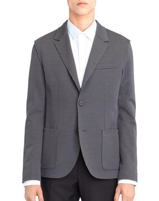 lanvin dekonstruierter grauer blazer für-ihn