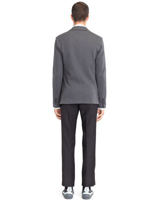 LANVIN GREY DECONSTRUCTED JACKET Jacket U d