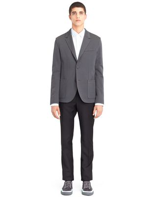 LANVIN GREY DECONSTRUCTED JACKET Jacket U f