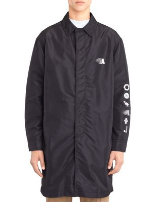 "LANVIN Outerwear U ""MOUNTAIN"" NYLON RAINCOAT F"