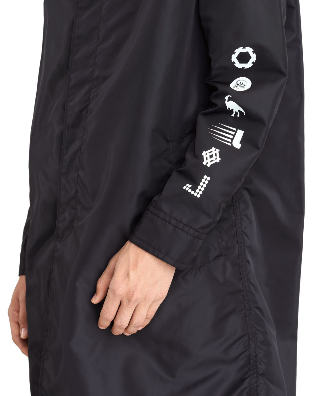 """MOUNTAIN"" NYLON RAINCOAT - Lanvin"