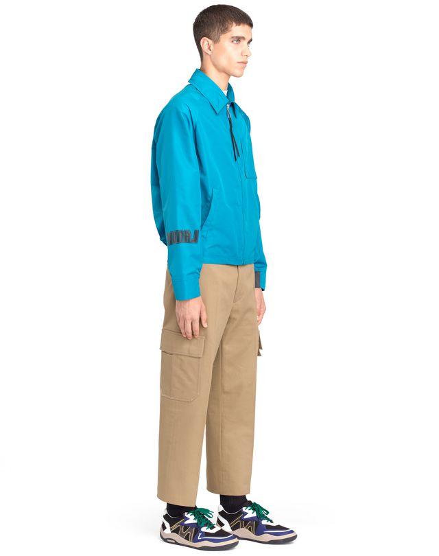 """LANVIN """"DIPLO BRANDING"""" NYLON JACKET Outerwear U e"""