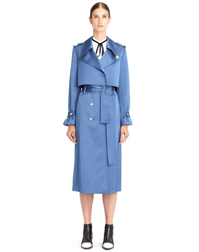 LANVIN TRENCH SATIN Manteau D f
