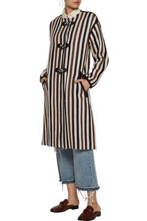 ISABEL MARANT ÉTOILE Belia striped wool-blend coat