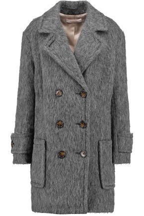SEE BY CHLOÉ Double-breasted faux shearling coat