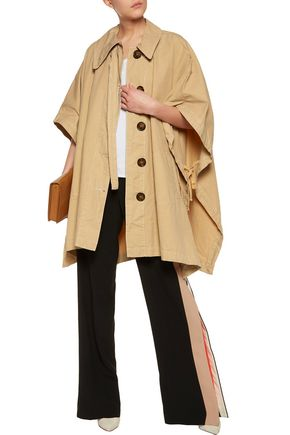 SEE BY CHLOÉ Cotton-canvas cape