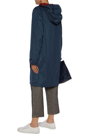 GANNI Shell hooded jacket