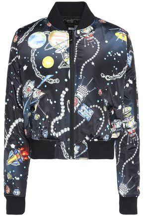 LOVE MOSCHINO Printed shell coat