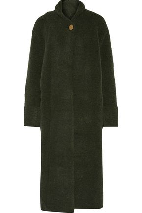 SOYER Wool-blend bouclé coat