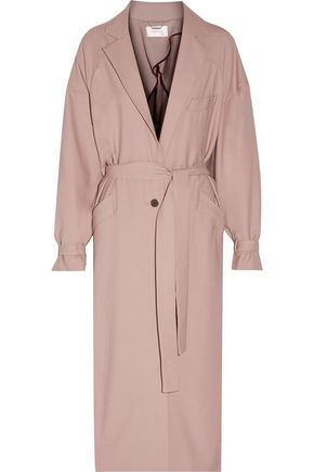 ZIMMERMANN Karmic belted twill trench coat
